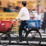 A cycling man