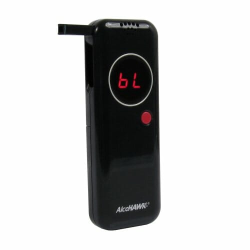 AlcoHAWK Ultra Slim Digital Breathalyzer