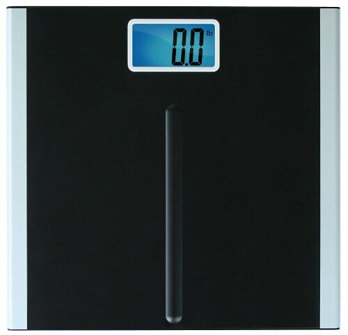 "EatSmart Precision Premium Digital Bathroom Scale with 3.5″ LCD and ""Step-On"" Technology"