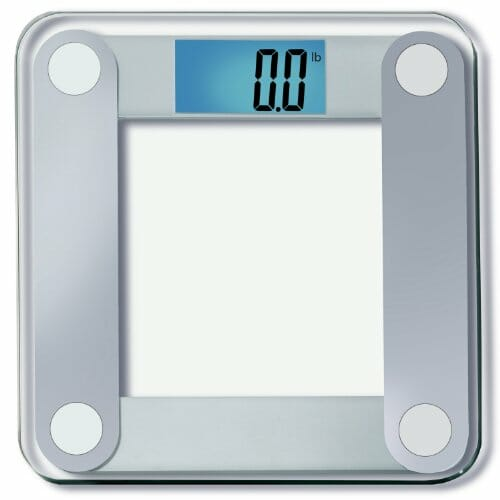 "EatSmart Precision Digital Bathroom Scale w/ Extra Large Lighted Display, 400 lb. Capacity and ""Step-On"" Technology [2013 VERSION] – 10,000+ Reviews EatSmart Guaranteed Accurate"