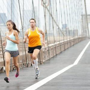 calories burned running