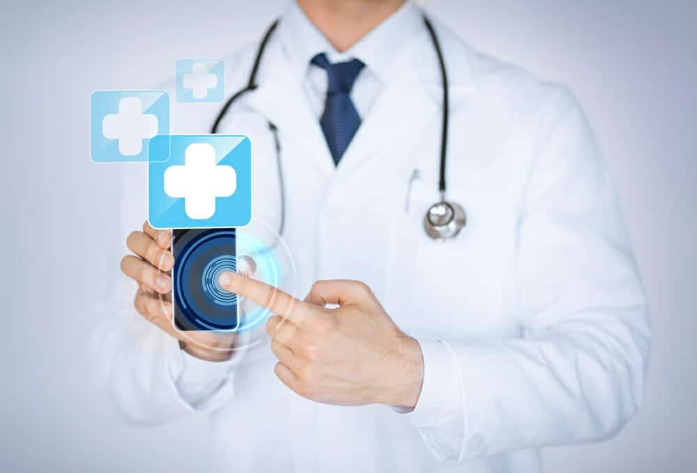 Medical app on smart phone