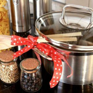 Ribbon on kitchen items