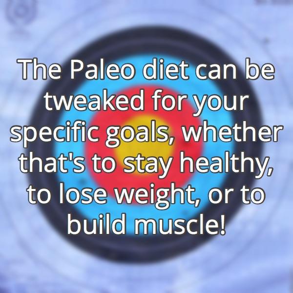 paleo diet goals