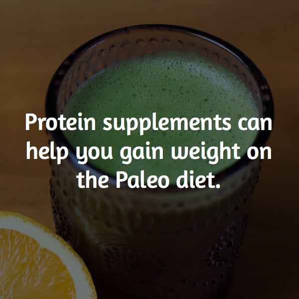 use protein supplements with the paleo diet