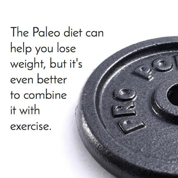 exercise with paleo for better losses