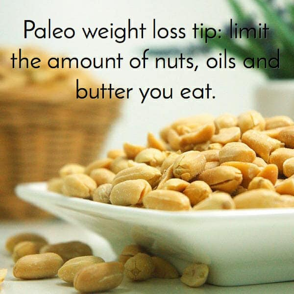 don't eat too many nuts with paleo