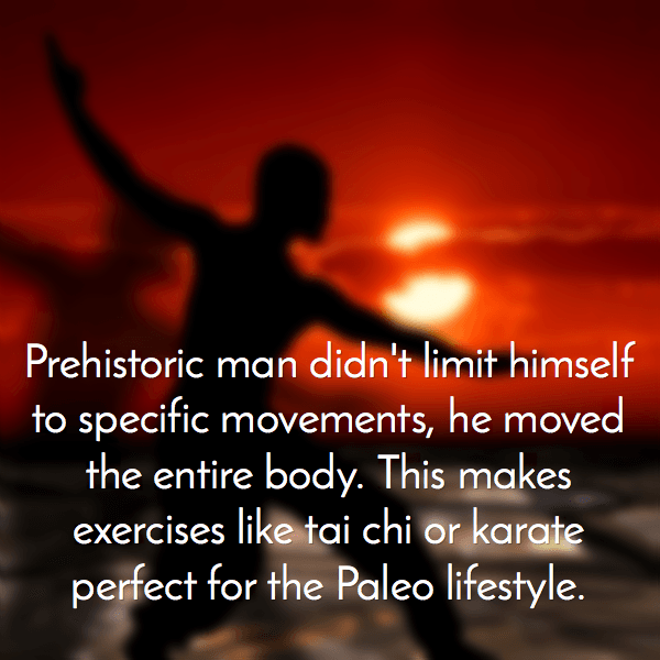 paleo diet needs full body exercise
