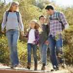 Family on Hiking