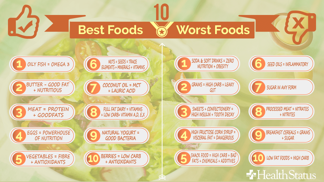 what are the top 10 rated diets