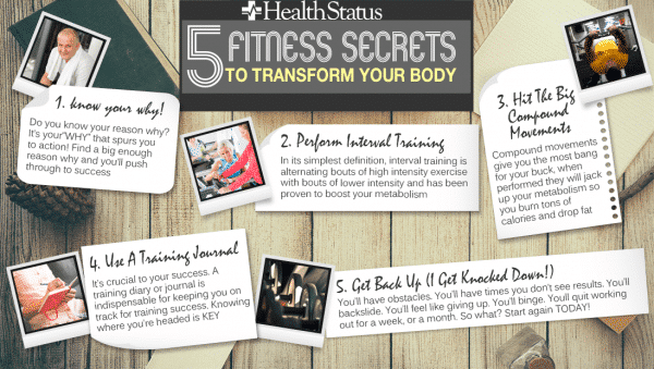 fitness secret list