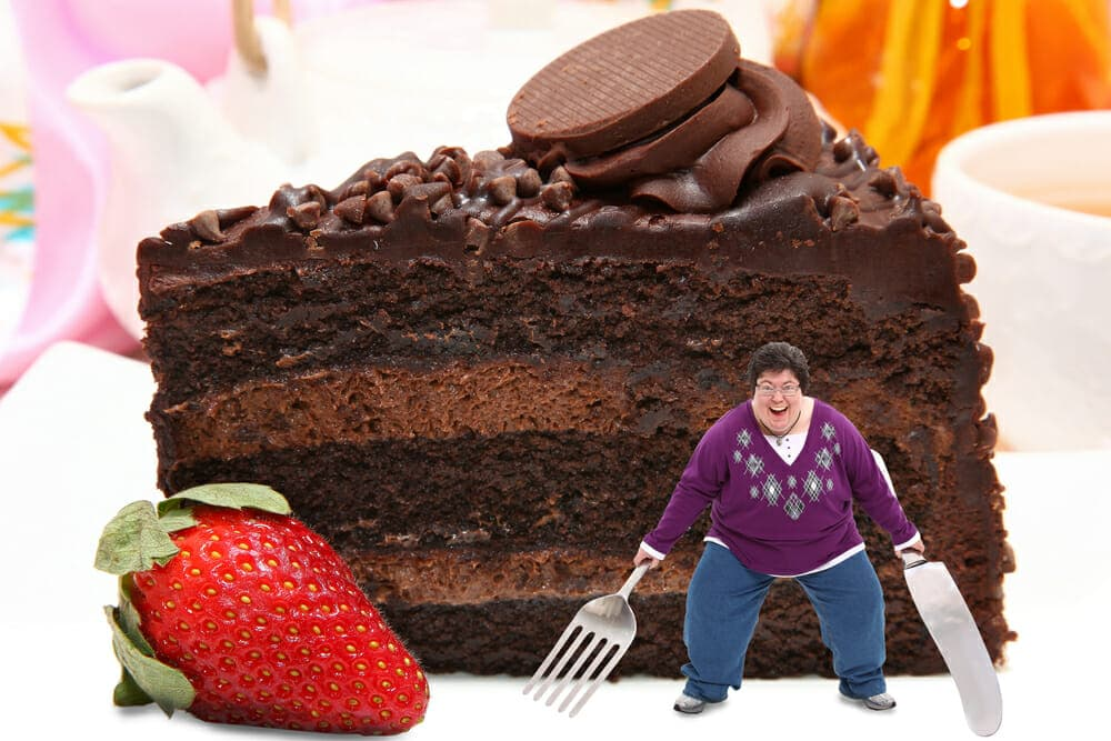 Large Chocolate Cake Images : 4 Easy Ways To Cut Sugar Cravings For Good HealthStatus